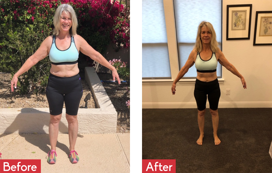 Marsha Byus Before and After